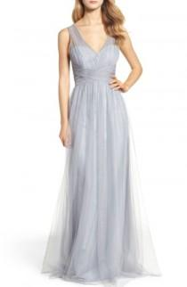 wedding photo - Hayley Paige Occasions Illusion Gown