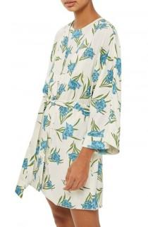 wedding photo - Topshop Botanical Print Short Robe