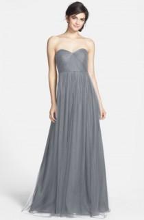wedding photo - Jenny Yoo Annabelle Convertible Tulle Column Dress