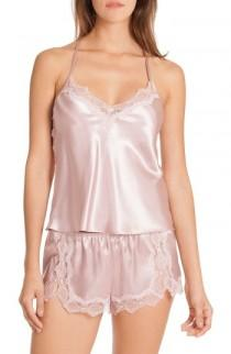wedding photo - In Bloom by Jonquil Satin Short Pajamas (Nordstrom Exclusive)