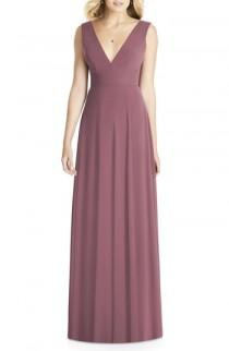 wedding photo - Social Bridesmaids Matte Chiffon Gown