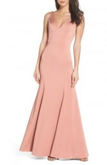 wedding photo - Jenny Yoo Jade Luxe Crepe V-Neck Gown