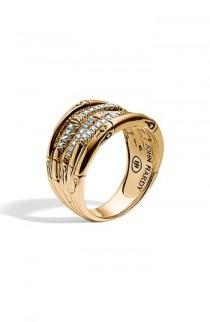 wedding photo - John Hardy Wide Bamboo Ring