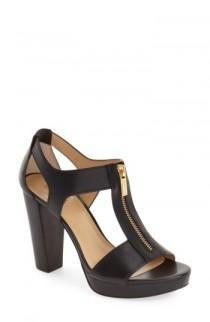 wedding photo - MICHAEL Michael Kors 'Berkley' T-Strap Sandal (Women)