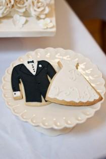 wedding photo - Креативные свадебные Cookies ♥ Уникальные свадебные сувениры
