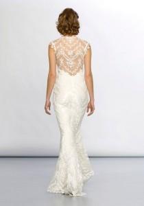 wedding photo - Lace Mermaid Wedding Dresses ♥ Elegant Lace Back Wedding Dress