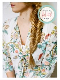 wedding photo - How To Fish Tail Braid