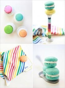 wedding photo -  Macaron Cookies