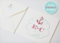 wedding photo - Nautical Monogram