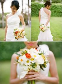 wedding photo - Daisy Wedding Bouquet
