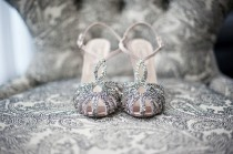 wedding photo - Sparkly scarpe da sposa ♥ scarpe da sposa chic e alla moda