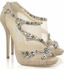 wedding photo - Jimmy Choo Brautschuhe