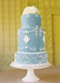 wedding photo -  Fondant Wedding Cakes