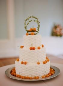 wedding photo -  Сельский Свадебные торты