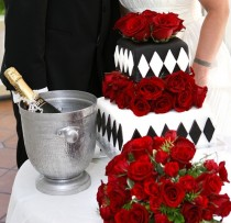 wedding photo -  Ravishing Red Wedding Details