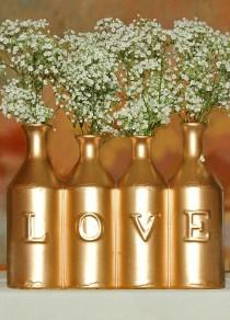 wedding photo -  Gold And Gilded Wedding Details