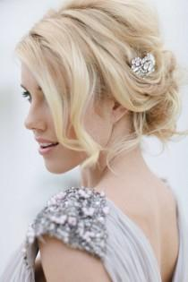 wedding photo -  Gorgeous Wedding Hair And Makeup