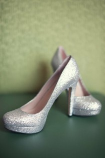 wedding photo -  Chic and Fashionable Wedding High Heel Pumps