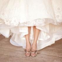 wedding photo - Chic Chaussures de mariage à talons hauts