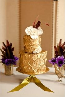 wedding photo -  Gold Wedding Color Palettes