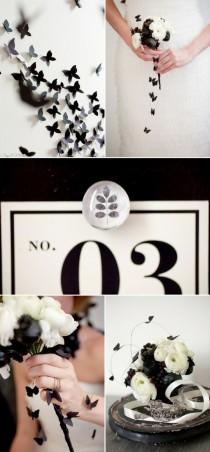 wedding photo - Black Wedding Color Palettes