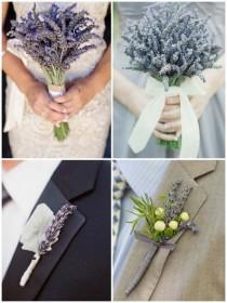 wedding photo - Einzigartige DIY Wedding Bouquets und Knopflöcher