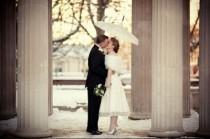 wedding photo - Winter Wedding Photography Idea} Kis Dugunu Fotoğrafları