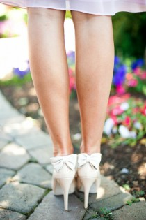 wedding photo - أحذية الزفاف خمر ♥ أحذية الزفاف لطيف