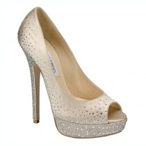 wedding photo - Jimmy Choo scarpe da sposa da sposa ♥ Tacchi Chic e alla moda di alta