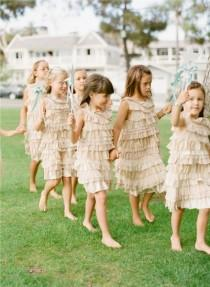 wedding photo -  Flower Girls & Ring Bearers