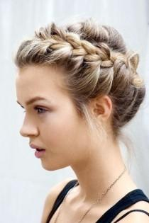 wedding photo - French Braid Wedding HairStyles