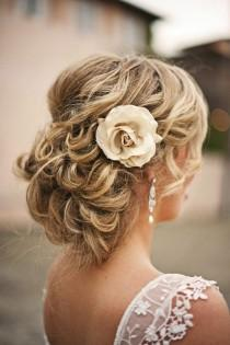 wedding photo - Simple Wedding HairStyles ♥ Wedding Updo Hairstyle