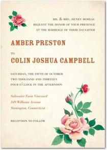 wedding photo - Invitations For Your Summer Wedding