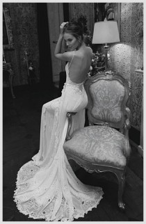 wedding photo -  Inbal Dror Haute Couture 2012 Collection ♥ Sexy Backless Wedding Dresses | Seksi Sirt Dekolteli Ozel Tasarim Gelinlik Modelleri