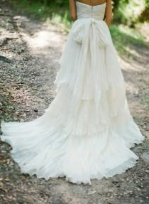 wedding photo - Simple & Chic Custom Designed Dress ♥ Special Design Gown