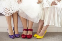 wedding photo -  Wedding Shoes - Colorful Shoes