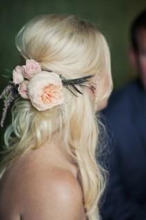 wedding photo - Природные свадебные прически ♥ Half Up Свадебная прическа