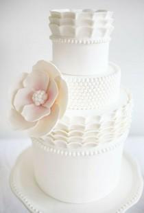 wedding photo - Fondant Свадебные торты Design