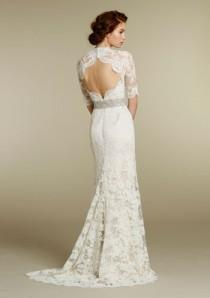 wedding photo - Chic Special Design Wedding Dress ♥ Lace Wedding Dress