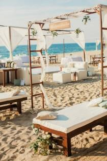 wedding photo - Decoraciones de la boda de playa