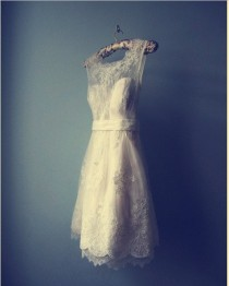 wedding photo - Chic Special Design Mini Wedding Dress
