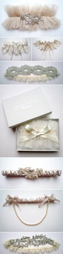 wedding photo - Sexy Wedding Garters for wedding girls
