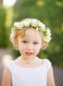 wedding photo - Cute Flower Girl