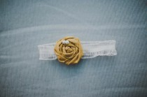 wedding photo - Подвязки Свадебные Saffron