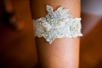 wedding photo - Lace Wedding Garter