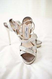 wedding photo - Sparkly Brautschuhe