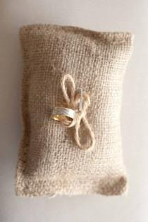 wedding photo -  Wedding Ring Pillow | Nisan Yuzuk Yastigi