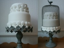 wedding photo -  Birdcage Wedding Cake Stand