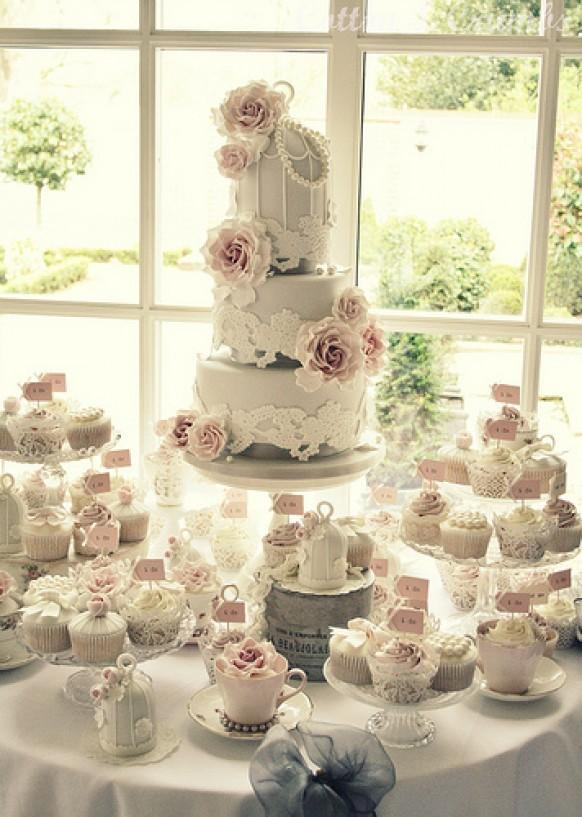 ideas of wedding cakes cake set up at warwick house 1987487 weddbook 16296