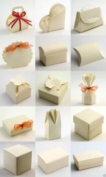 Best Quality Diy Ivory Silk Embossed Wedding Favour Favor Bo